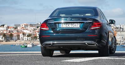 Mercedes-Benz E-Class rear angle hd image