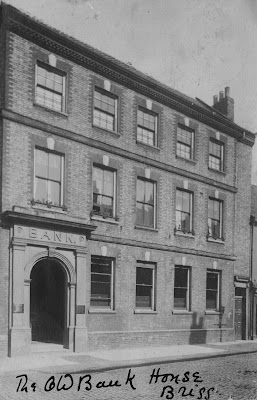 The Old Bank House in Brigg which later became Woolworth's store - see Nigel Fisher's Brigg Blog