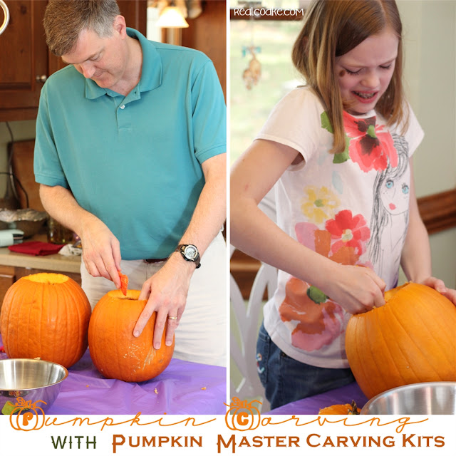 Great fall family fun pumpkin carving ideas with #PupmkinMastersKit from realcoake.com