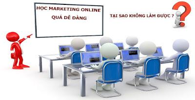 Để học marketing online hiệu quả