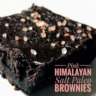 Pink Himalayan Salt Paleo Brownies