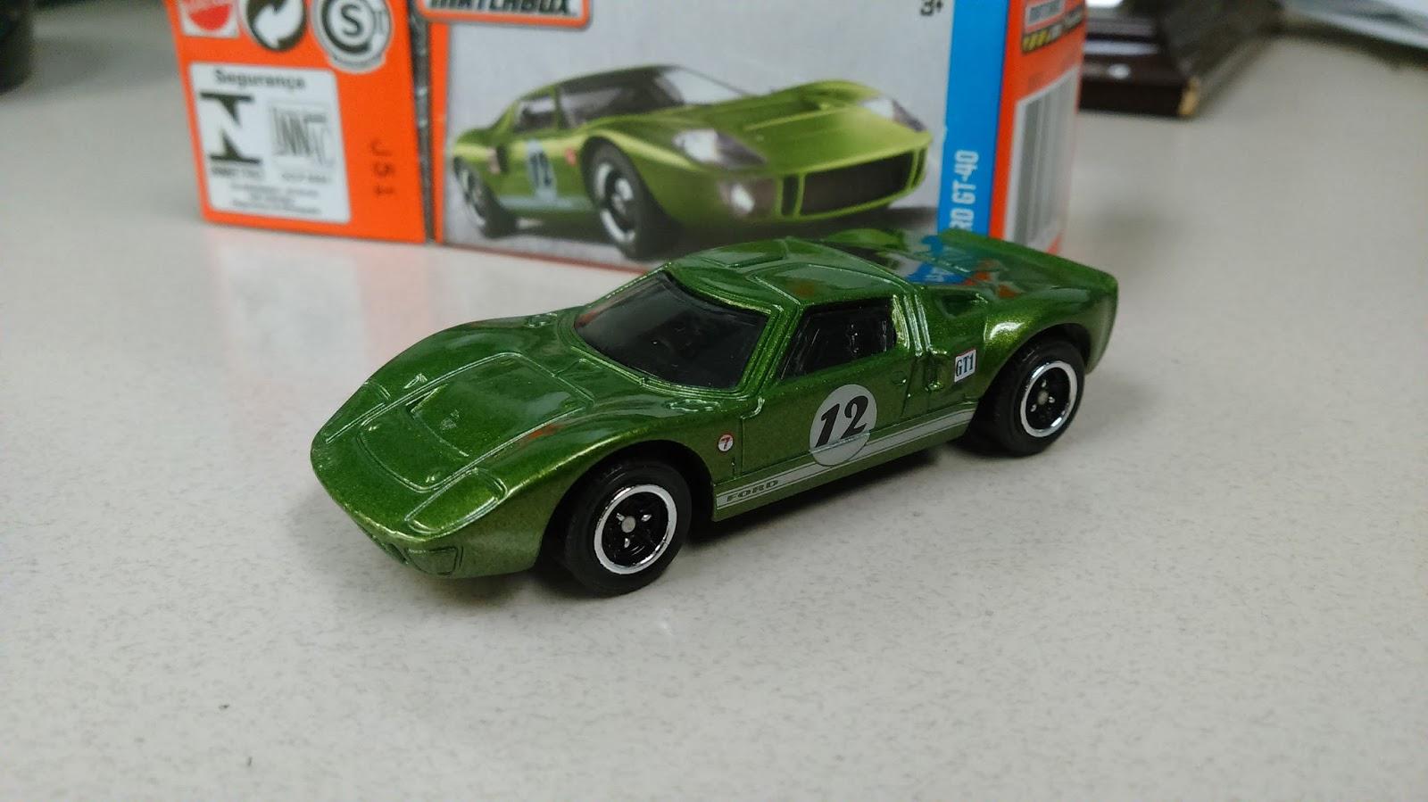 Matchbox Ford Gt  Green