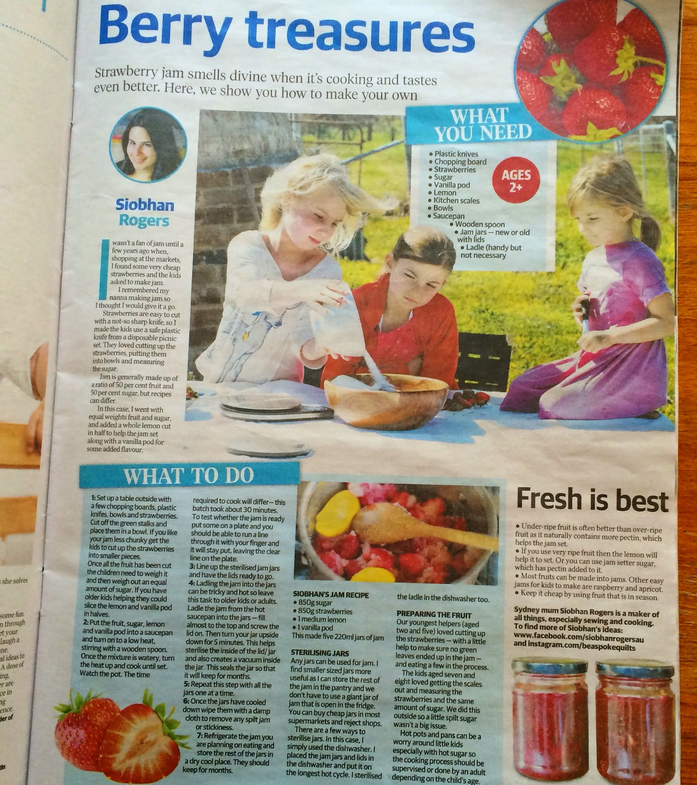 A story I did for The Daily Tele