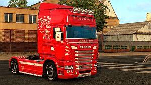 Scania RJL AC skin paintable