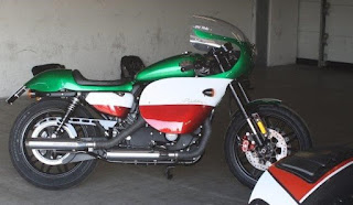 old italy sportster racing 1200 roadster by hd treviso side right