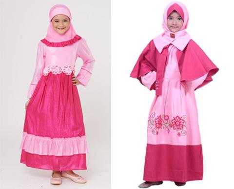 32 Model Baju Muslim Anak Berhijab Perempuan Terbaru 2018
