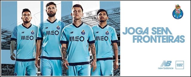 Fc Porto 2017-18 New Balance Third Kit