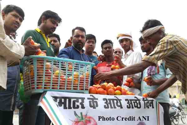 congress-worker-sell-tomatoes-10-rupaye-kilo-outside-up-assembly