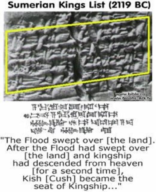 Trái đất được cai trị trong 241.000 năm bởi 8 vị vua từ 'thiên đường'