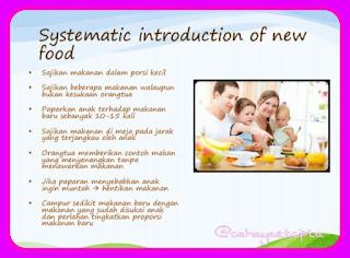 Masalah makan Nutrisi Tepat