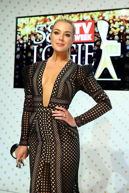 Jessica Marais – 58th Annual Logie Awards in Melbourne