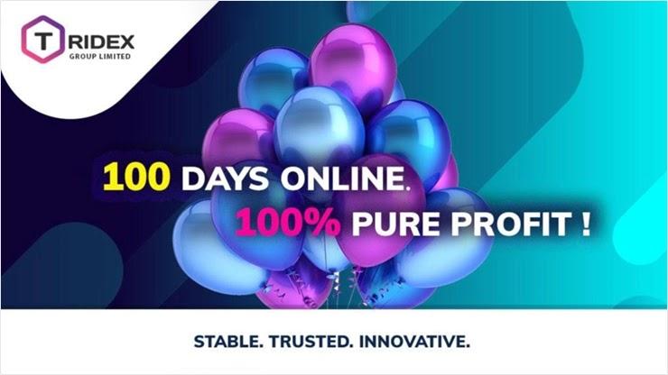 100 дней работы Tridex