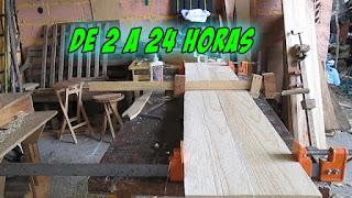 Tiempo de secado de la madera