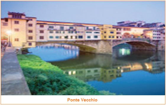 Ponte Vecchio - 5 Konstruksi Jembatan yang Ada di Dunia