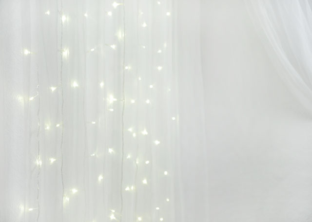 DIY Fairy Light Curtain
