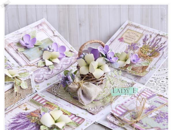 Stamperia Lavender Exploding Box
