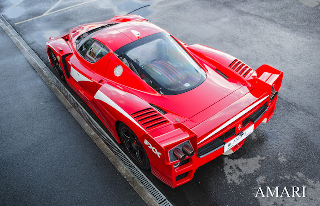 価格は12億円!「フェラーリFXX Evoluzione」の公道走行可能なモデルが英国で販売中!
