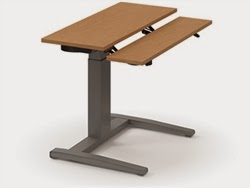 Sit to Stand Height Adjustable Desk