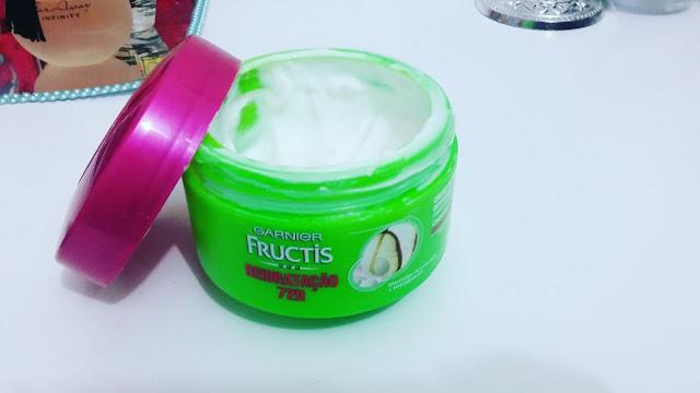 Creme de Tratamento Intensivo Garnier Fructis Reidratação 72h