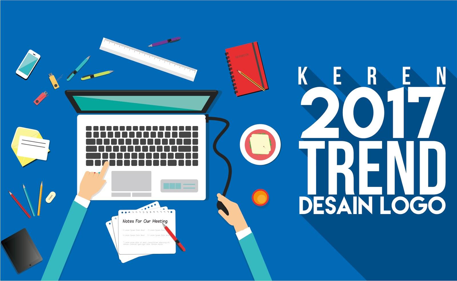 trend desain logo tahun 2017 keren karya bercerita