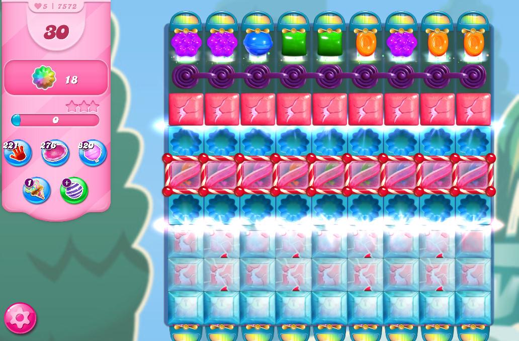Candy Crush Saga level 7572