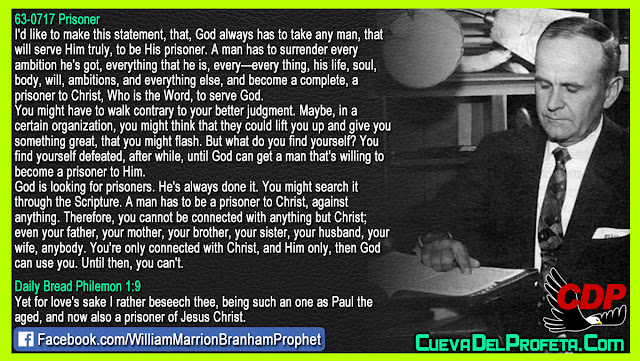 God can not use you until you are this - William Branham Quotes