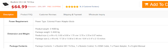 مراجعة لجهاز Beelink GS1 ... أقوى TV Box ذكي  يدعم دقة 6K و بمميزات خيالية