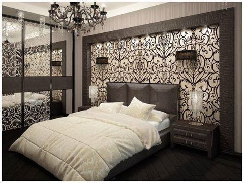 65 inspiring ideas for the wall behind bed home decor. Black Bedroom Furniture Sets. Home Design Ideas
