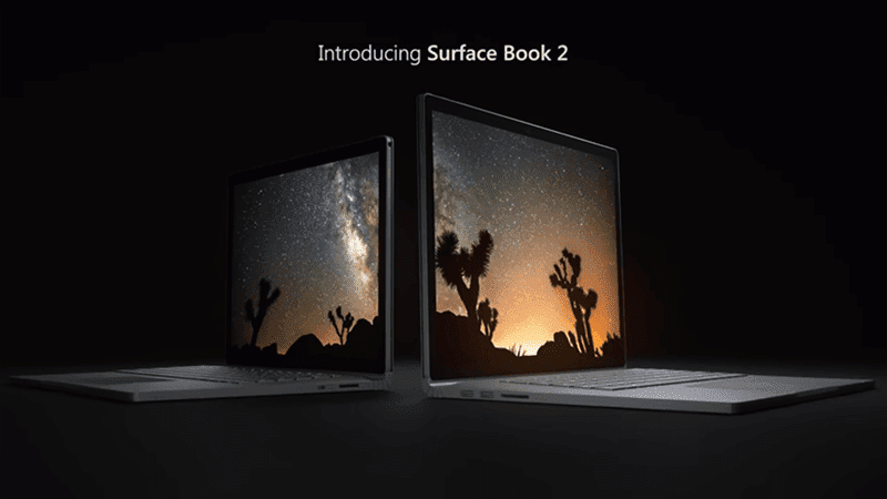 Microsoft announces Surface Book 2 with new Intel quad-core chip