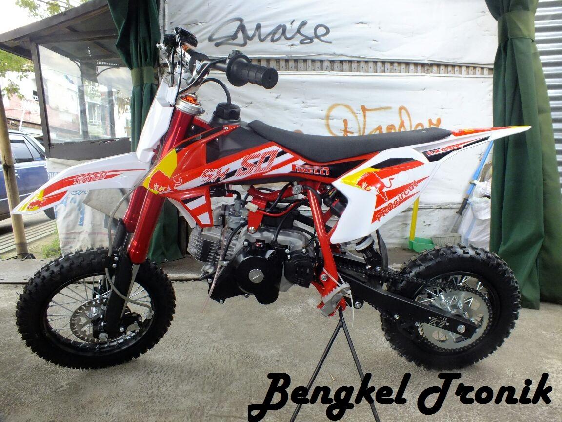 Harga Motor Mini dan Sprefart Model Trail dan GP Cocok