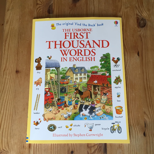 First Thousand Words in English by Usborne Books