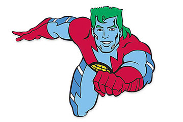 Captain Planet Face