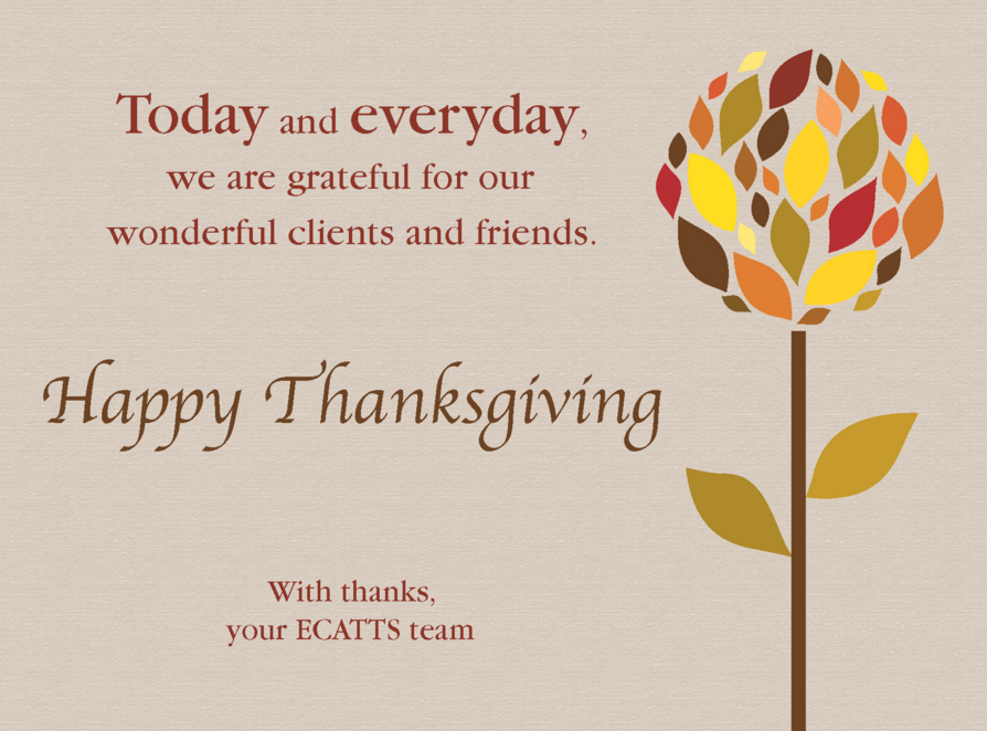 Thanksgiving Card Messages Business Choice Image - Business Card ...