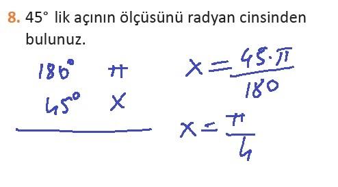 11. Sınıf MEB Yayınları Matematik 19. Sayfa Cevapları