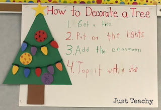 Interactive Writing, How to Decorate a Tree