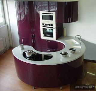 Round Countertop Kitchen 1