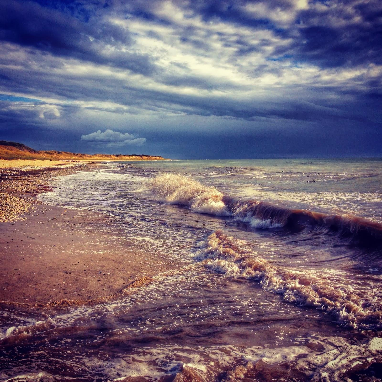 Photo de la plage de la côte sauvage