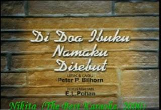Download Lagu Rohani Nikita Di Doa Ibuku Namaku Disebut