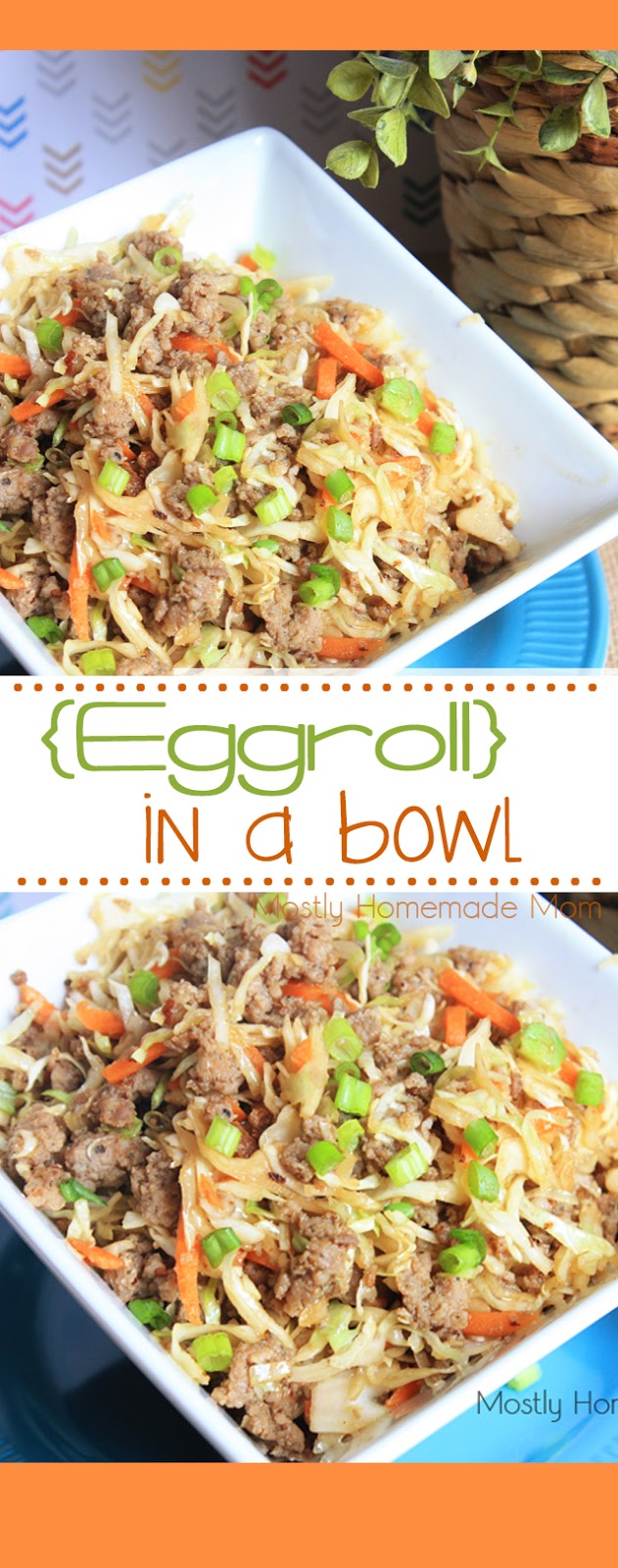 Eggroll in a bowl recipe