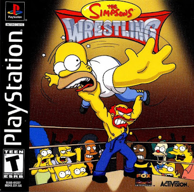 descargar simpsons wrestling psx por mega
