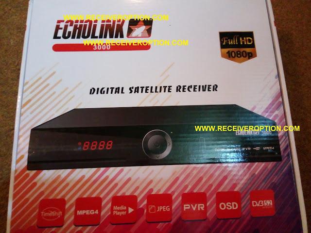 ECHOLINK 3000 HD RECEIVER AUTO ROLL POWERVU KEY SOFTWARE
