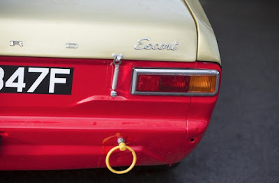 1967 Ford Escort MKI  Rally Car Taillight