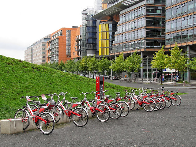 Call a Bike docking station, Linkstraße, Berlin