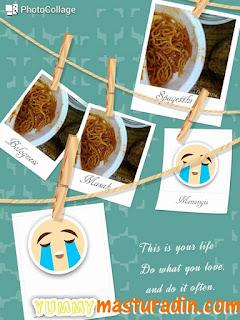 resepi spaghetti, bahan-bahan, cara-cara, spaghetti versi melayu