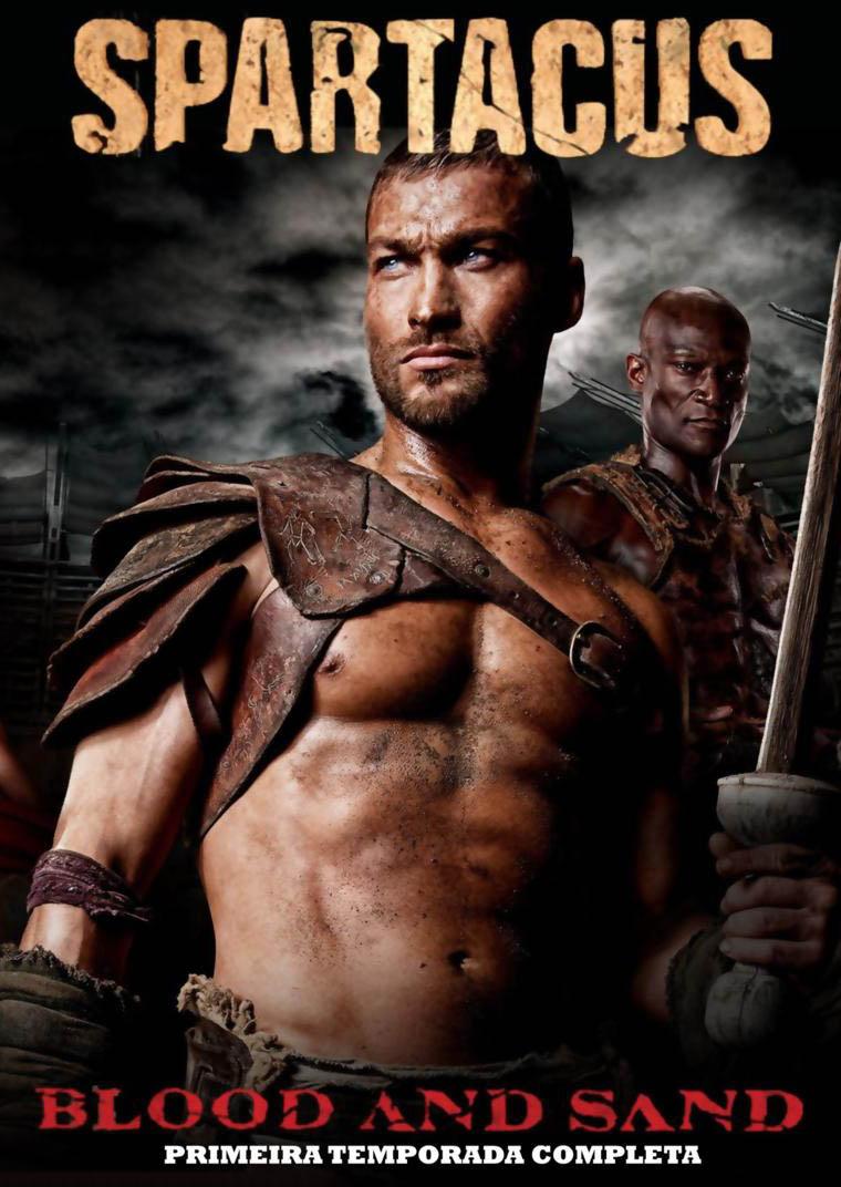 Spartacus 1ª Temporada Torrent - Blu-ray Rip 720p Dublado (2010)