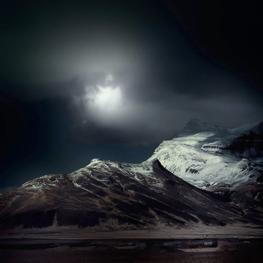 Stunning Photos Of Icelandic Landscapes Taken With Infrared Technique