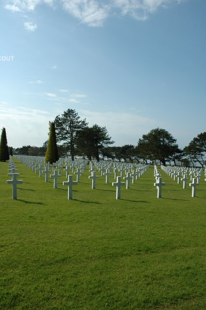 Cemetery at Colleville sur Mer