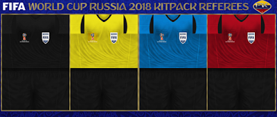 PES 6 Kitpack World Cup 2018 Russia Referee