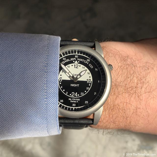 Lesablier Aviateur VQ wrist shot