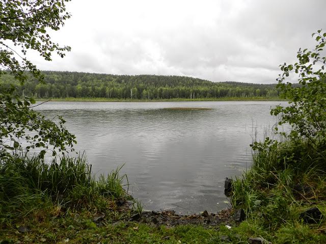 Озеро Шуворино в Челябинской области